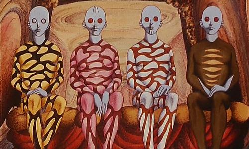 鬼才、ルネ・ラルー監督によるシュールなSFアニメ映画「ファンタスティック・プラネット」