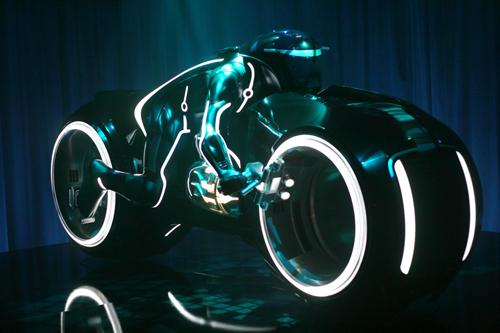 トロンのバイク